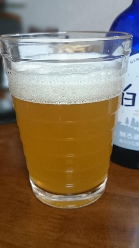 銀河高原ビール ユキノチカラ 白ビール